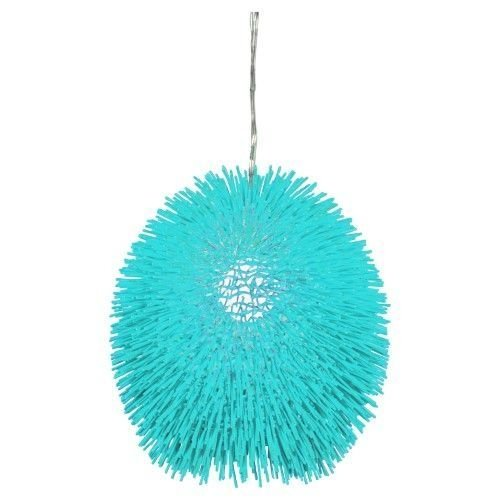 Pretty Aqua Pendant Lamp Ideas 13