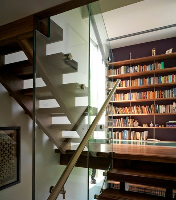 Unique Staircase Landings Featuring Creative Use Of Space 22