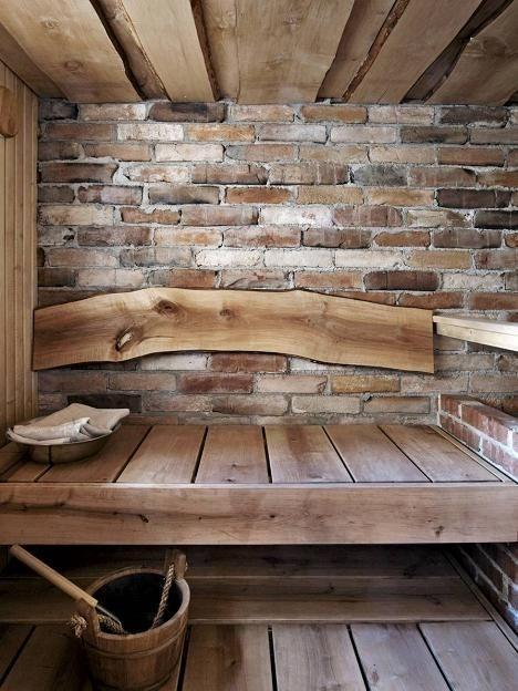 Wonderful Home Sauna Design Ideas 46