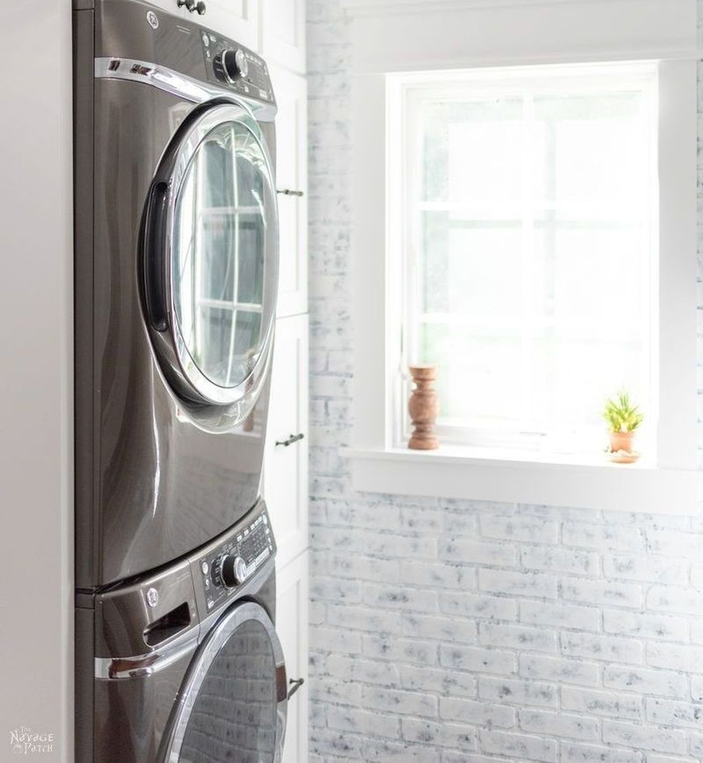 Amazing Diy Laundry Room Makeover With Farmhouse Style Ideas 44
