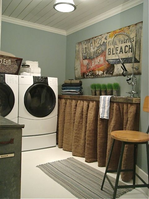 Amazing Diy Laundry Room Makeover With Farmhouse Style Ideas 46