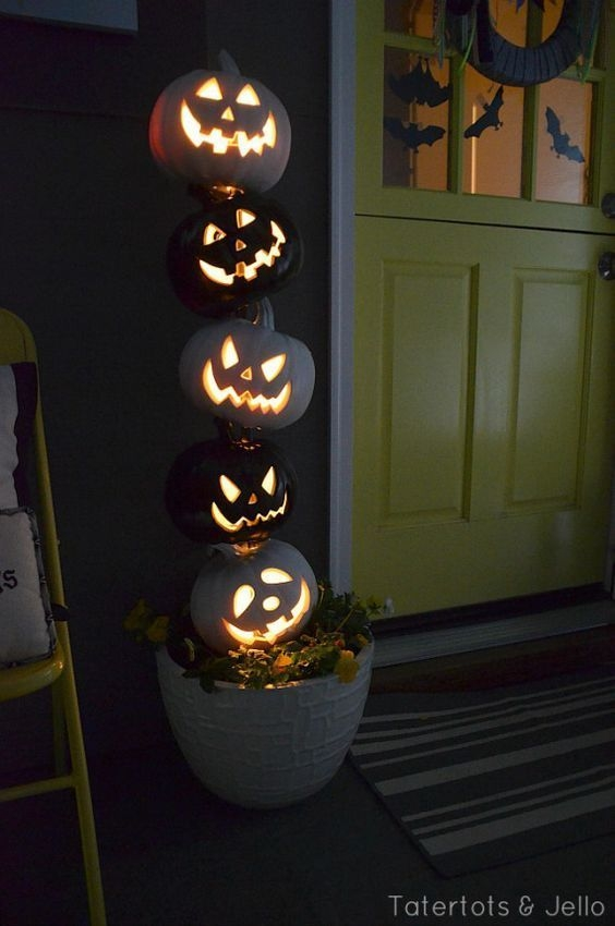 Elegant Diy Halloween Ideas For Outdoor Decoration 19