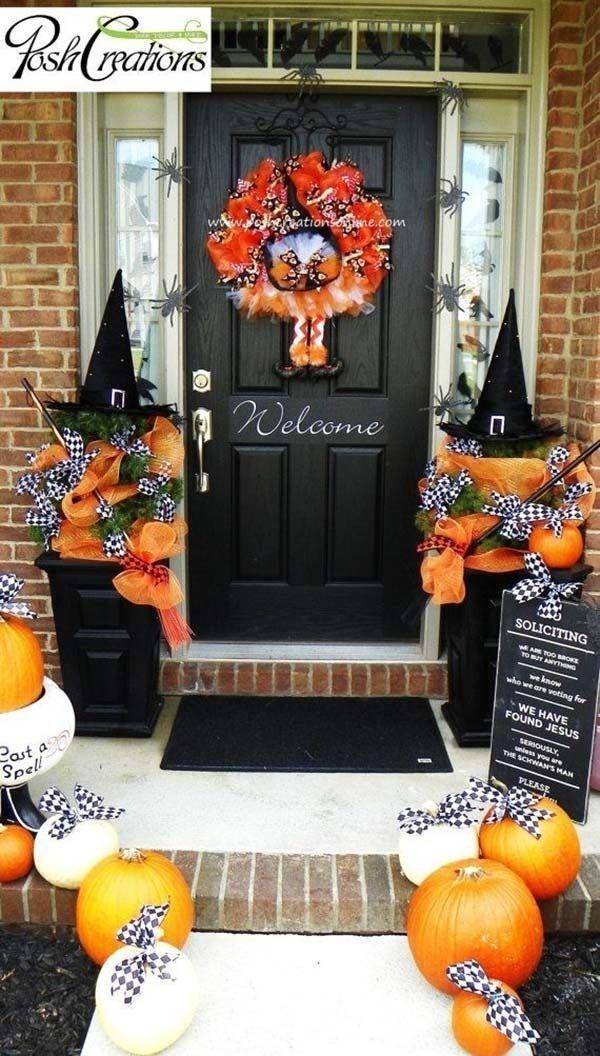 Elegant Diy Halloween Ideas For Outdoor Decoration 41