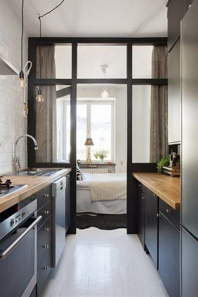 Incredible Kitchen Cabinet Design For Small Spaces 11