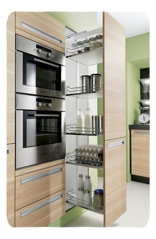Incredible Kitchen Cabinet Design For Small Spaces 15