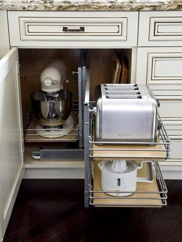Incredible Kitchen Cabinet Design For Small Spaces 17