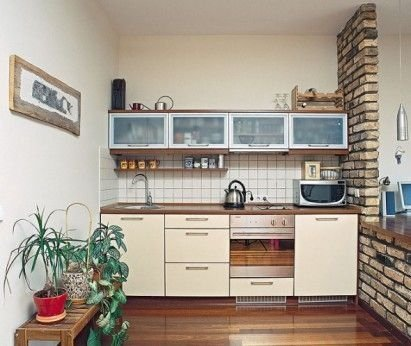 Incredible Kitchen Cabinet Design For Small Spaces 24