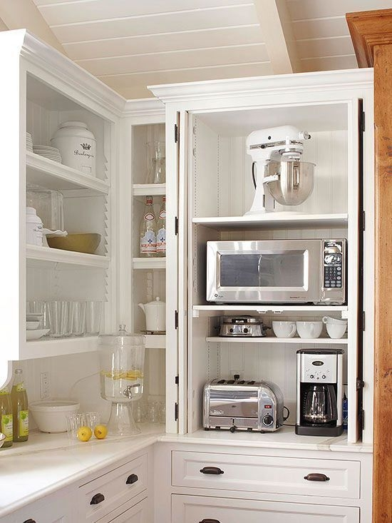 Incredible Kitchen Cabinet Design For Small Spaces 27