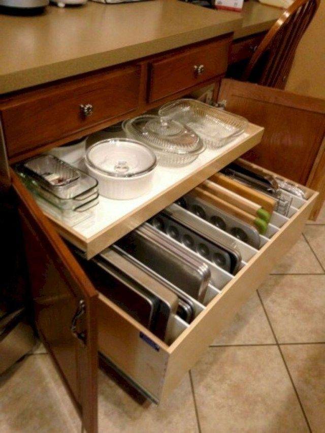 Incredible Kitchen Cabinet Design For Small Spaces 28