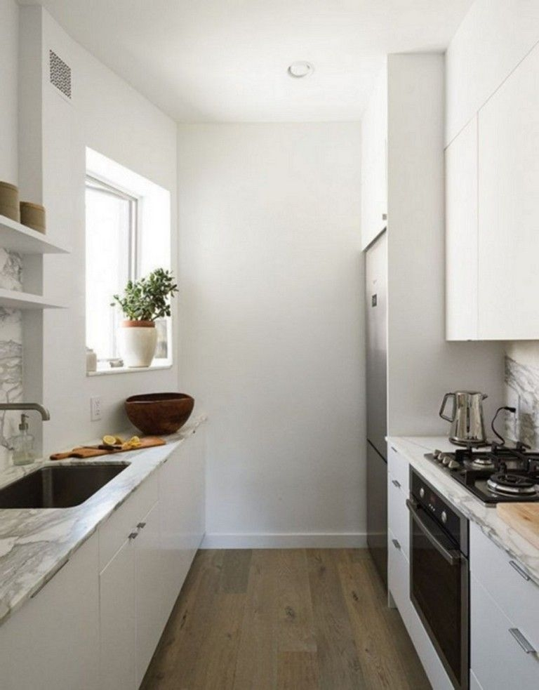 Incredible Kitchen Cabinet Design For Small Spaces 35