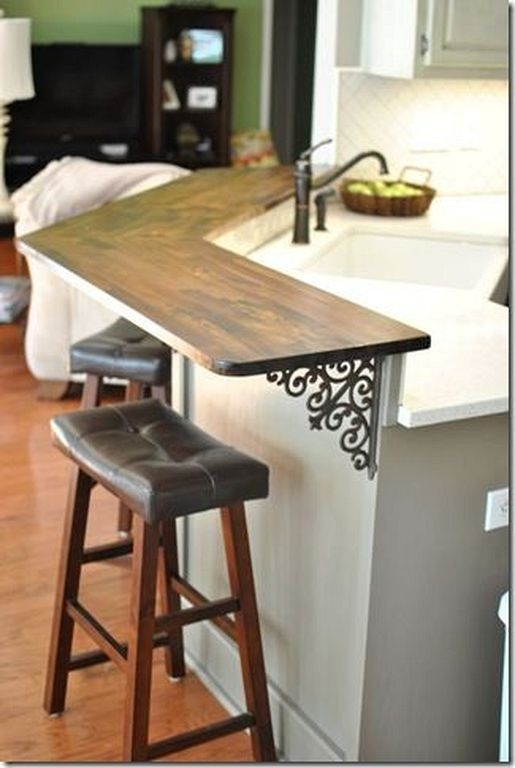 Incredible Kitchen Cabinet Design For Small Spaces 36
