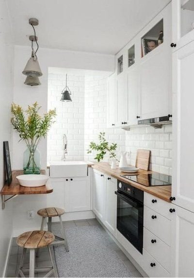 Incredible Kitchen Cabinet Design For Small Spaces 39