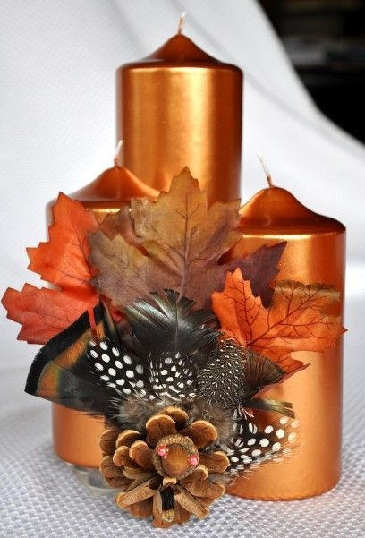 Lovely Turkey Decor For Your Thanksgiving Table Ideas 17