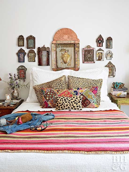 Marvelous Master Bedroom Bohemian Hippie To Inspire Ideas 07