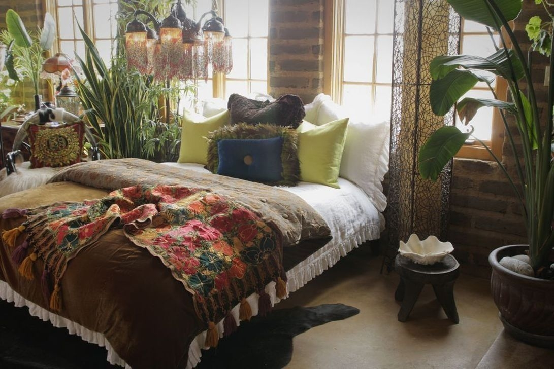 Marvelous Master Bedroom Bohemian Hippie To Inspire Ideas 18