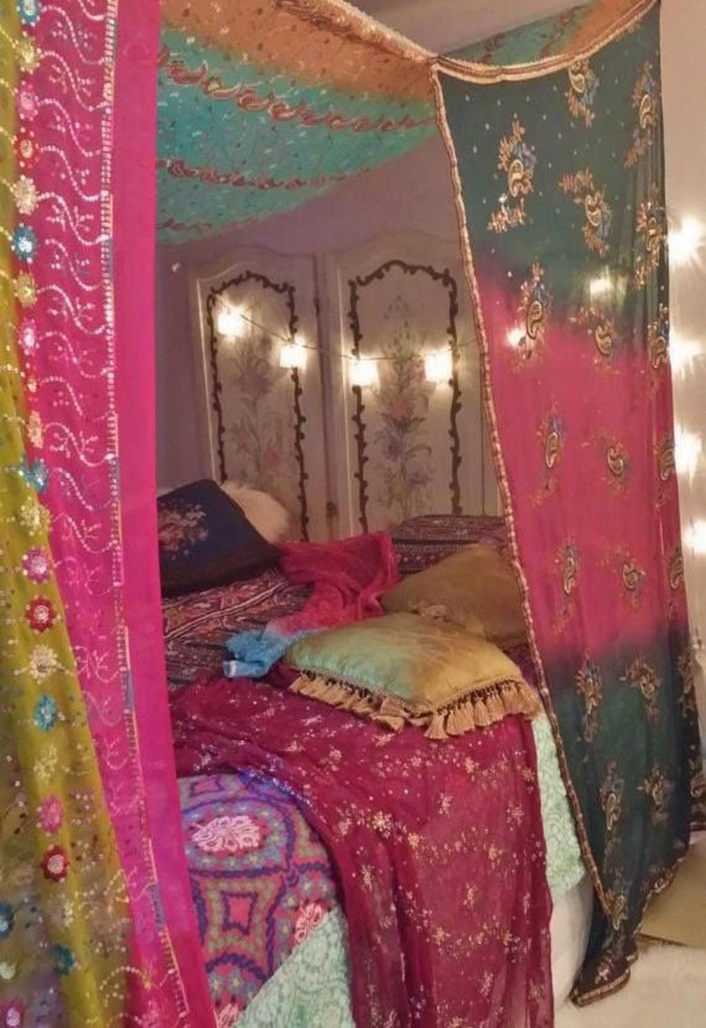 Marvelous Master Bedroom Bohemian Hippie To Inspire Ideas 36