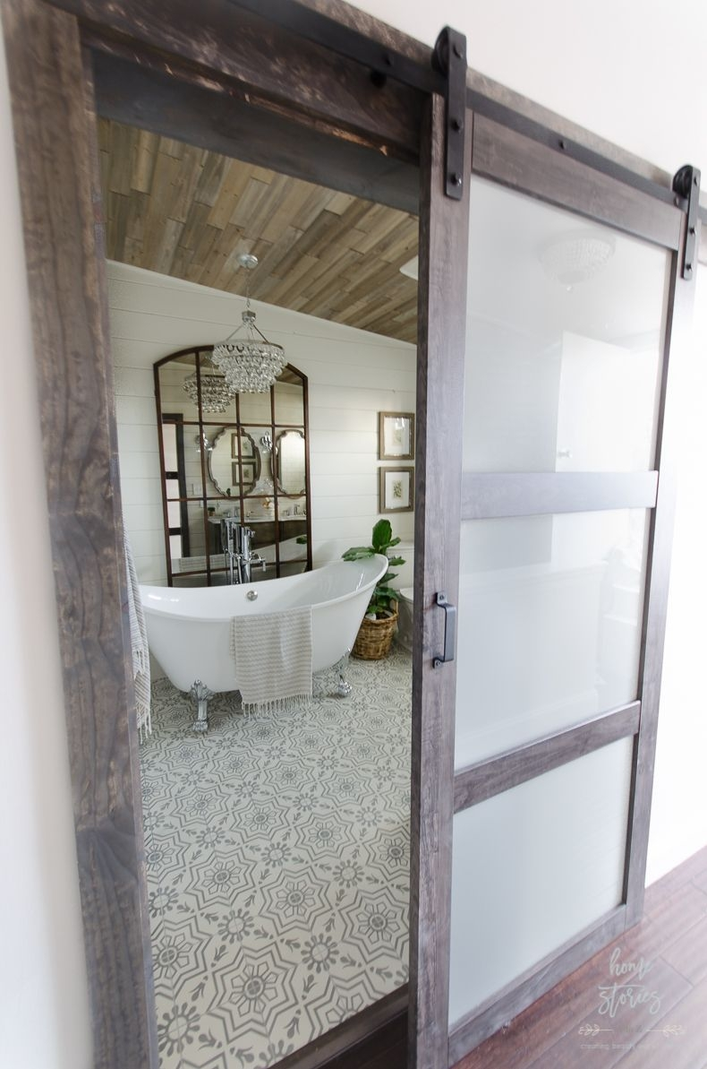 Minimalist Bathroom Winter Decoration Ideas 12