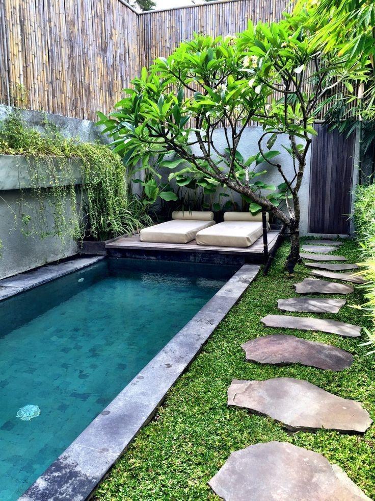 Modern Small Backyard Ideas With Swimming Pool Design 09