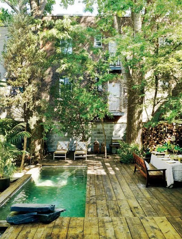 Modern Small Backyard Ideas With Swimming Pool Design 21
