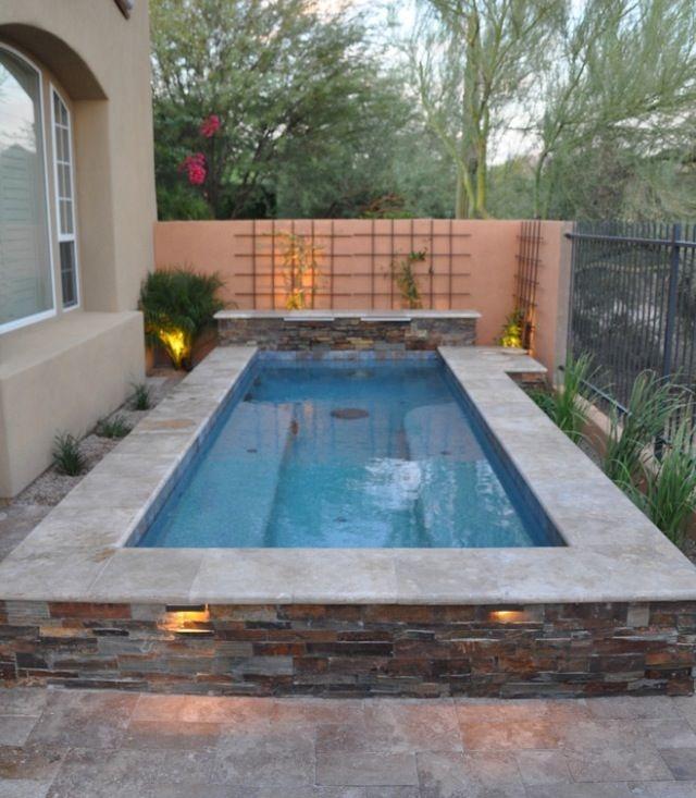 Modern Small Backyard Ideas With Swimming Pool Design 25