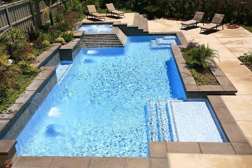 Modern Small Backyard Ideas With Swimming Pool Design 40