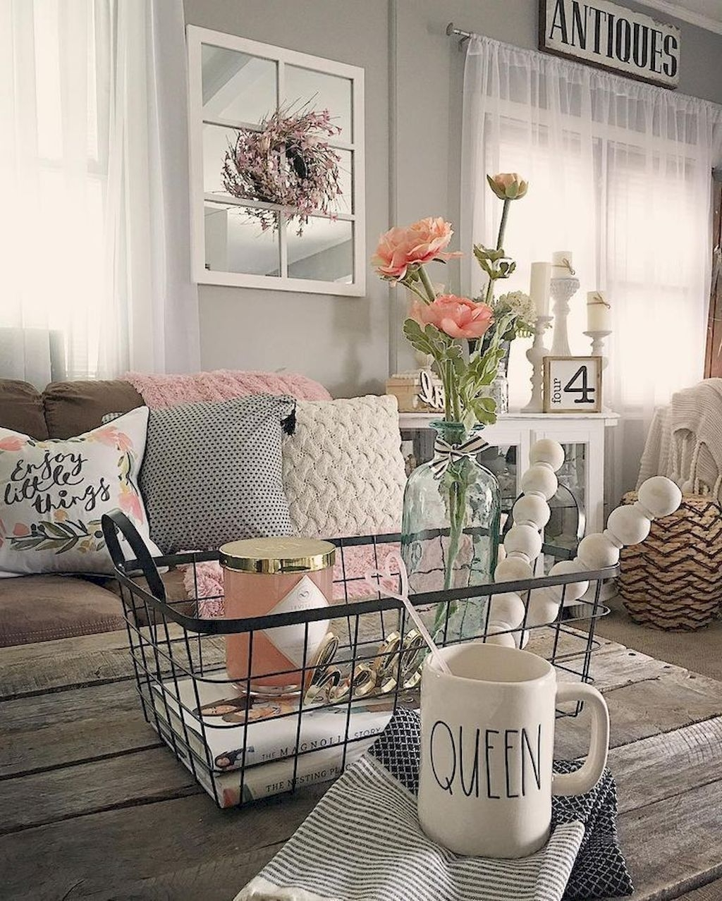Romanic Rustic Style Decor Ideas 24