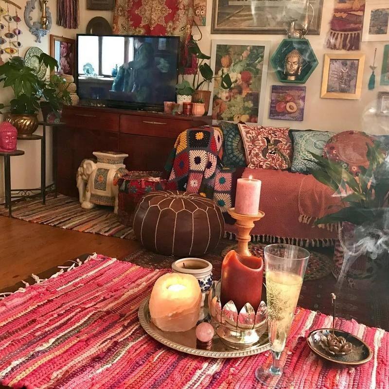 Stunning Bohemian Style Home Decor Ideas 22