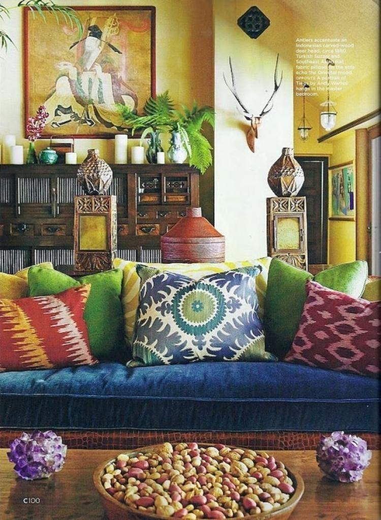 Stunning Bohemian Style Home Decor Ideas 24