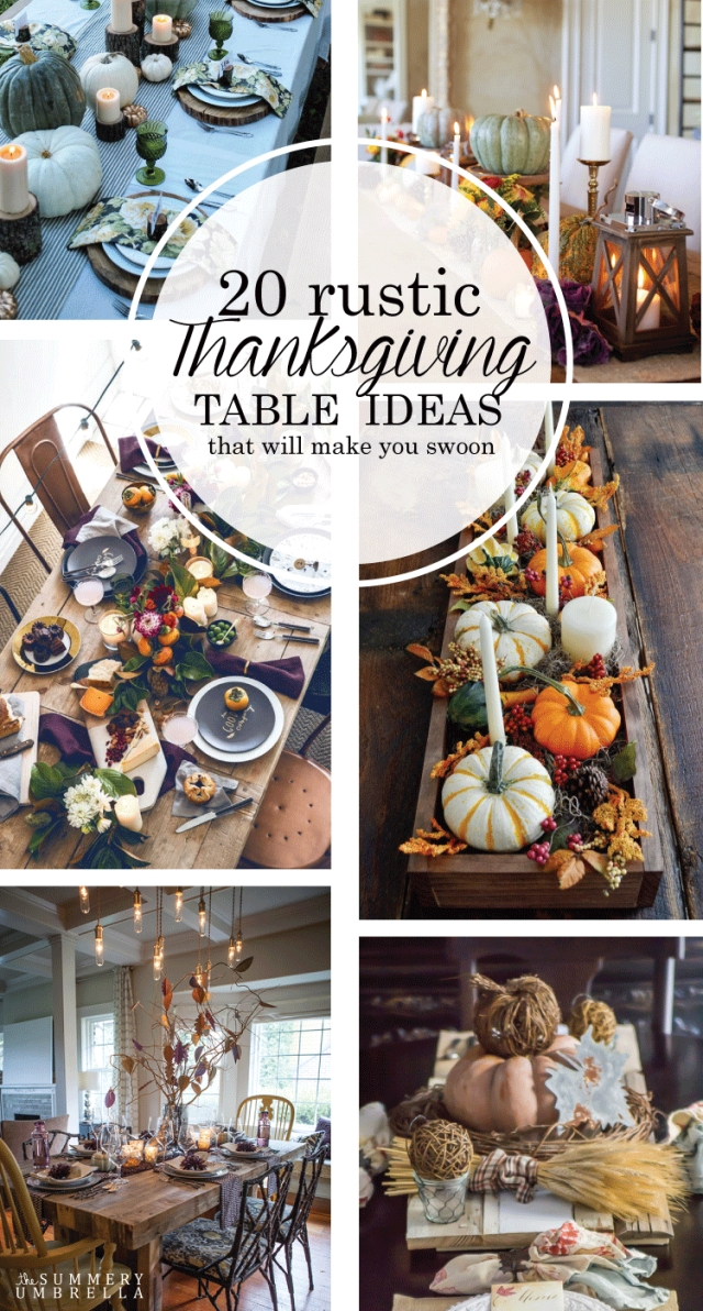 Stylish Thanksgiving Table Ideas 17
