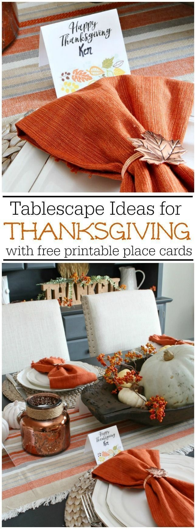 Stylish Thanksgiving Table Ideas 20