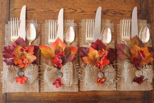 Stylish Thanksgiving Table Ideas 27