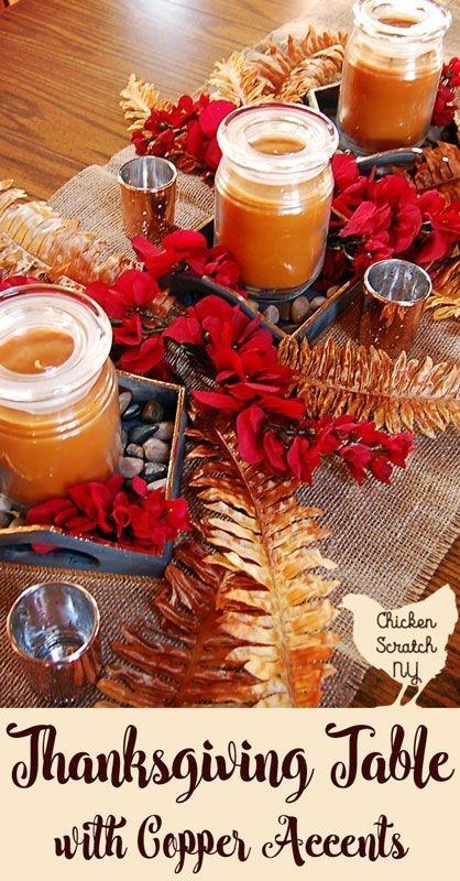 Stylish Thanksgiving Table Ideas 42