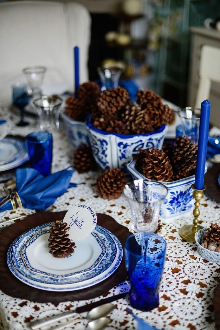 Stylish Thanksgiving Table Ideas 44