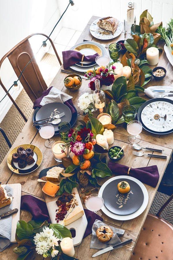 Stylish Thanksgiving Table Ideas 47
