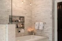Cozy Master Bathroom Bathtub Remodel Ideas 40