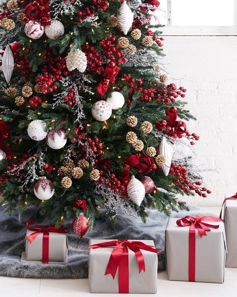 Easy Christmas Tree Decor With Lighting Ideas 06
