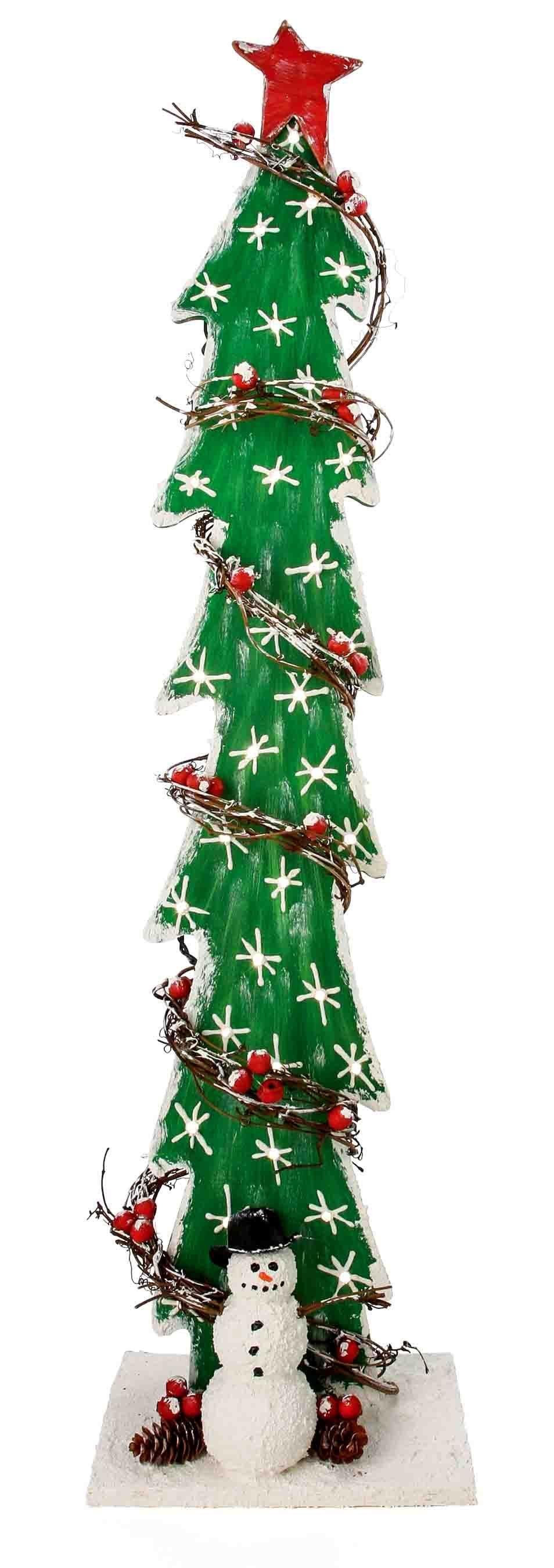 Easy Christmas Tree Decor With Lighting Ideas 21