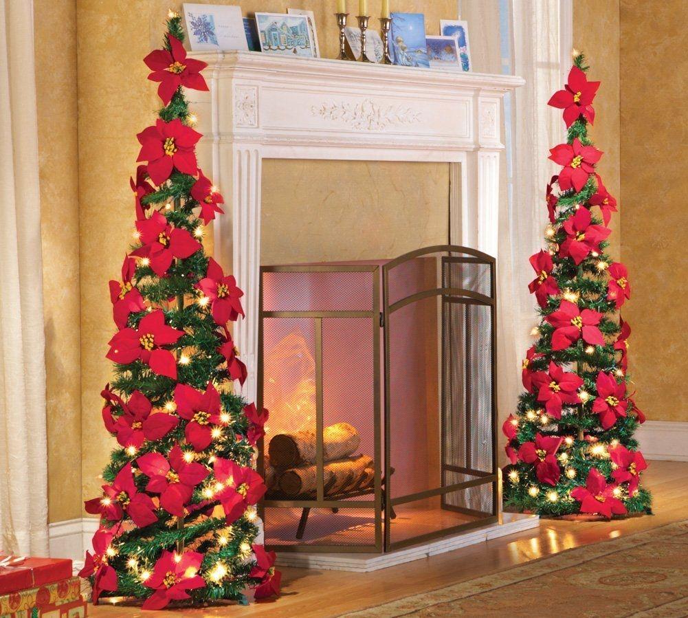Easy Christmas Tree Decor With Lighting Ideas 38