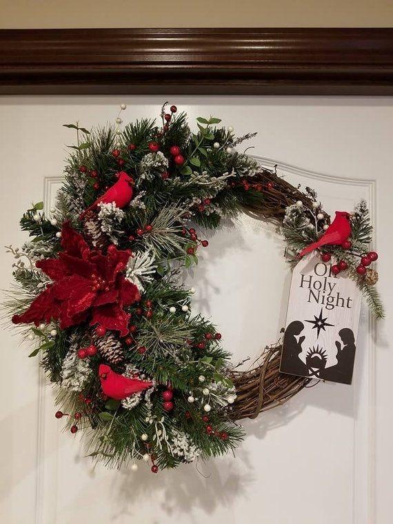 Lovely Farmhouse Christmas Porch Decor And Design Ideas 06