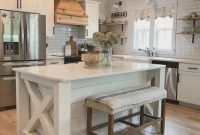 Pretty Farmhouse Kitchen Makeover Ideas On A Budget 40