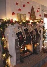 Stunning Fireplace Mantel Decor For Christmas Ideas 40