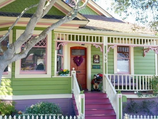 Amazing Front Porch Design Ideas For Valentines Day11