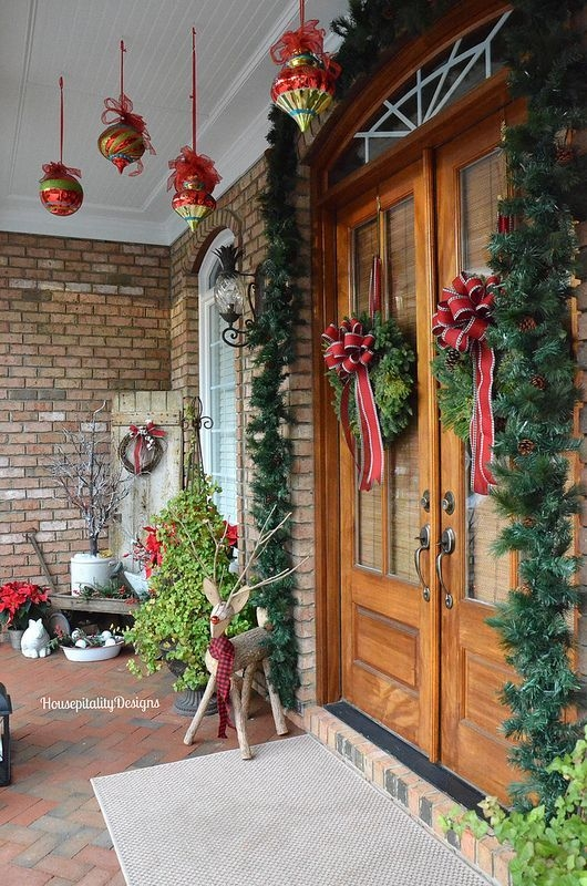 Amazing Front Porch Design Ideas For Valentines Day30