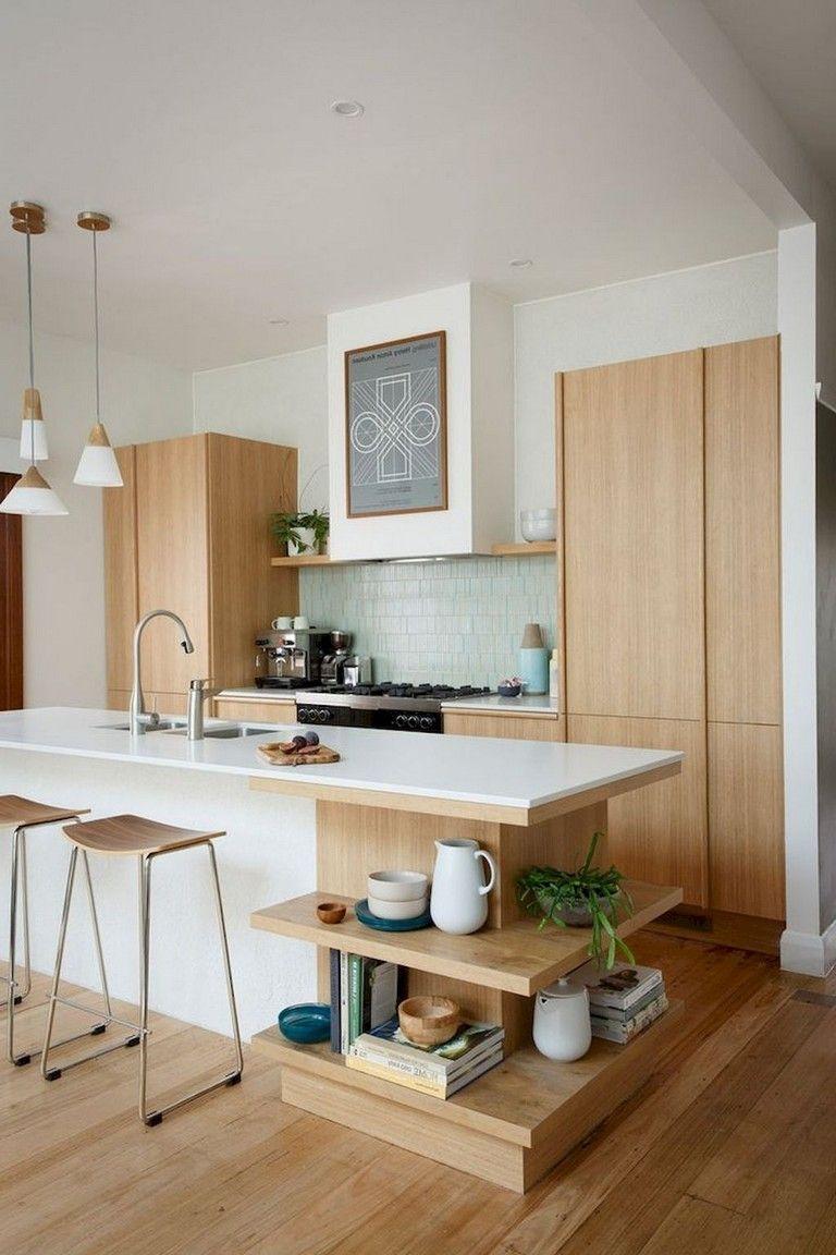 Attractive Mid Century Kitchen Designs Ideas12
