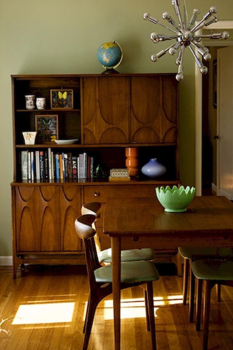 Attractive Mid Century Kitchen Designs Ideas19