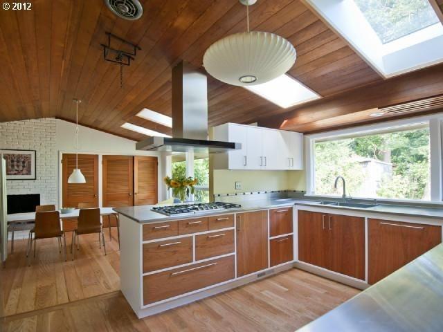 Attractive Mid Century Kitchen Designs Ideas20
