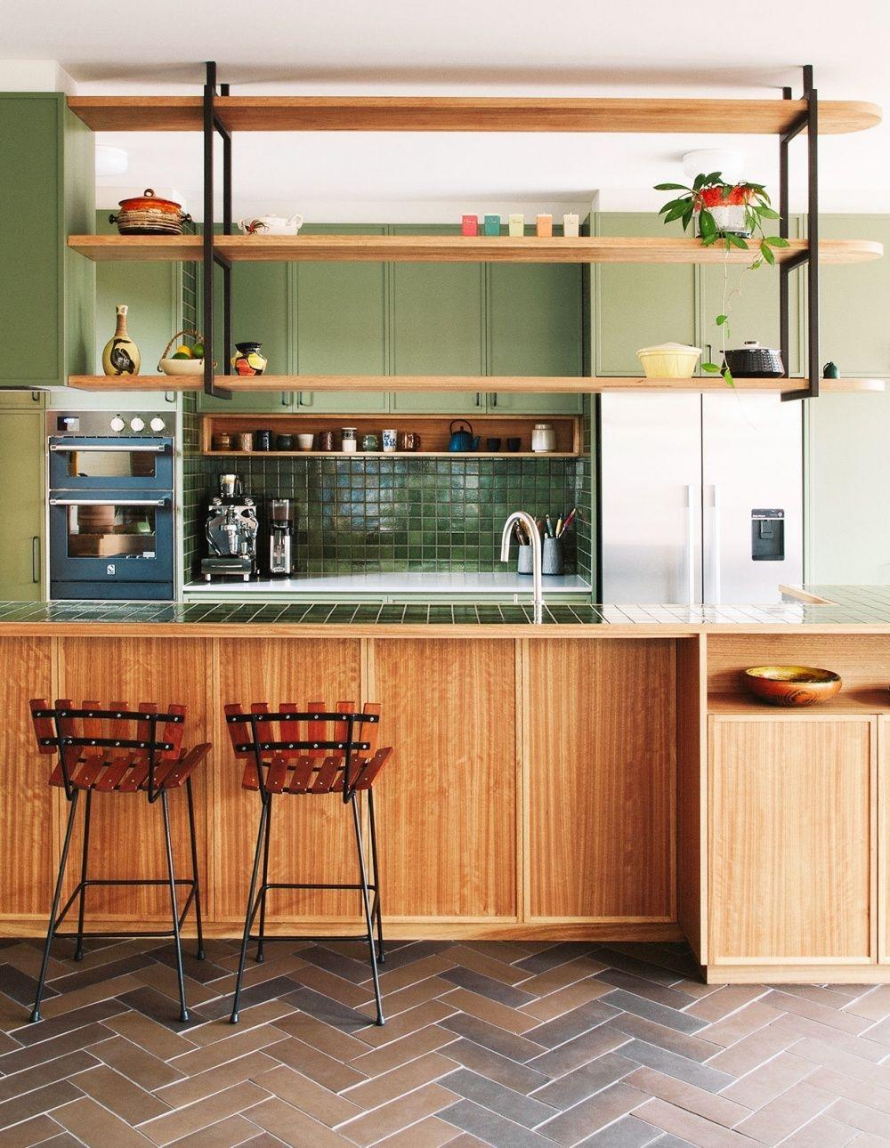 Attractive Mid Century Kitchen Designs Ideas35