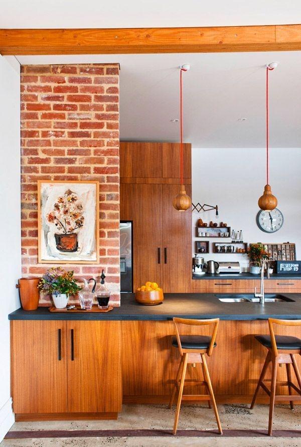 Attractive Mid Century Kitchen Designs Ideas37