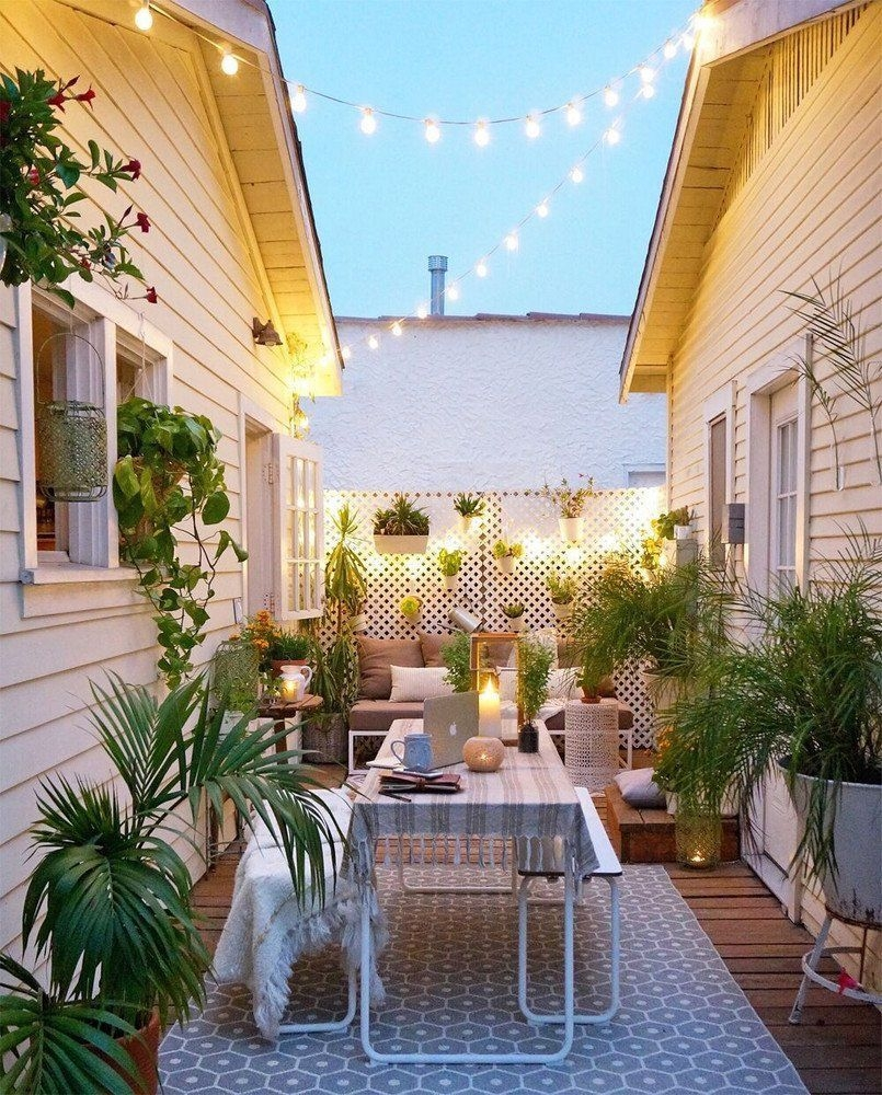 Awesome Small Space Gardening Design Ideas28