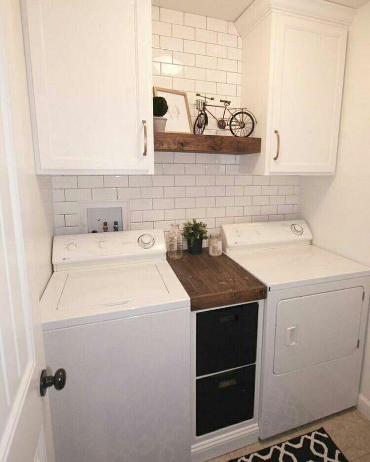 Best Small Laundry Room Design Ideas07